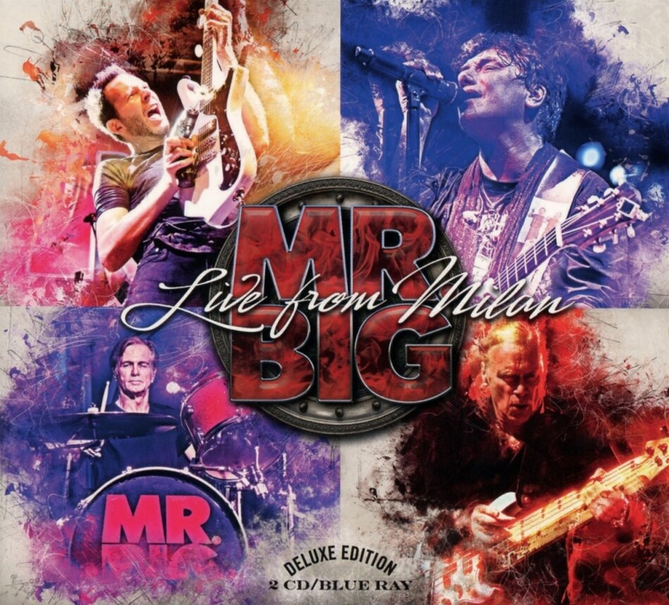 Mr Big - Live From Milan (2 CDs + Blu-ray)