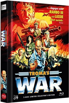 Troma's War (1988) (Cover A, Collector's Edition, Limited Edition, Mediabook, Uncut, Blu-ray + DVD)