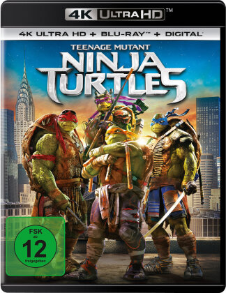 Teenage Mutant Ninja Turtles (2014) (4K Ultra HD + Blu-ray)
