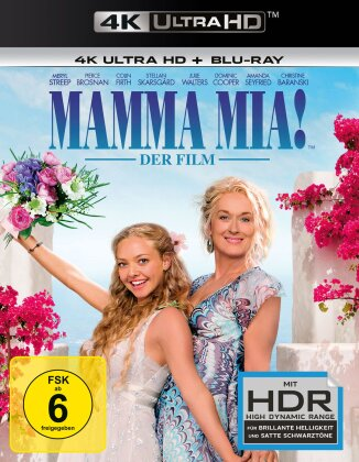 Mamma Mia! - Der Film (2008) (4K Ultra HD + Blu-ray)