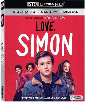 Love, Simon (2018) (4K Ultra HD + Blu-ray)