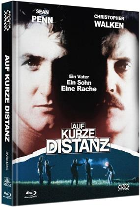 Auf kurze Distanz (1986) (Cover C, Collector's Edition, Limited Edition, Mediabook, Blu-ray + DVD)