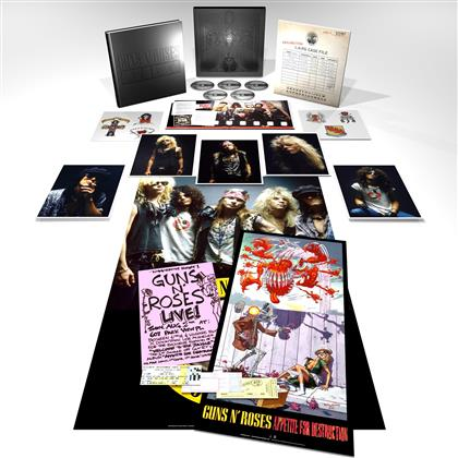 Guns N' Roses - Appetite For Destruction (Super Deluxe Edition, Remastered, 4 CDs + Blu-ray)