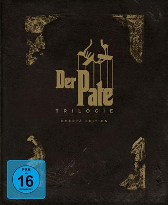 Der Pate - Trilogie (Omerta Edition, Limited Edition, 4 Blu-rays)