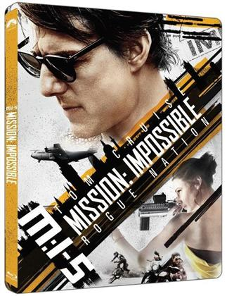Mission Impossible 5 (2015) (Limited Edition, Steelbook)