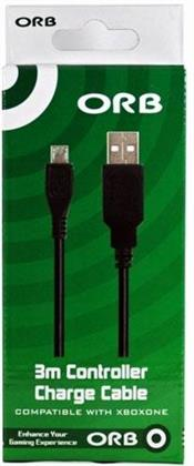 XBOX-One USB Ladekabel 3m ORB