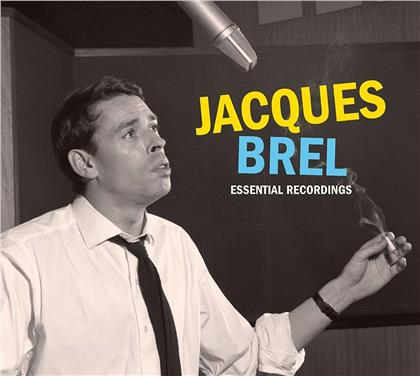 Jacques Brel - Essential Recordings 1954-1962 (Remastered, 3 CDs)