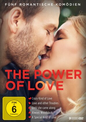 The Power of Love - Fünf romantische Komödien (5 DVDs)