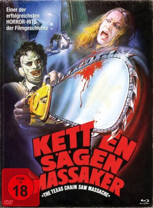 Kettensägenmassaker - The Texas Chain Saw Massacre (1974) (Limited Edition, Mediabook, 2 Blu-rays + DVD)