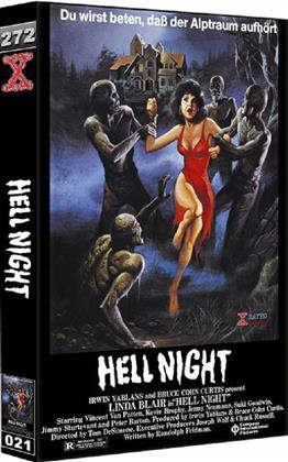 Hell Night (1981) (Grosse Hartbox, Cover C, Uncut)