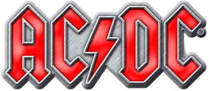 AC/DC - Red Logo Pin Badge