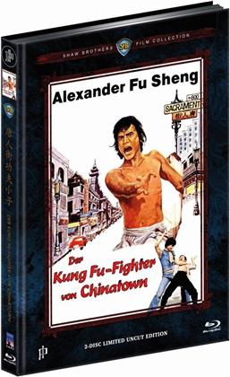 Der Kung Fu-Fighter von Chinatown (1977) (Cover B, Shaw Brothers Collection, Limited Edition, Mediabook, Uncut, Blu-ray + DVD)