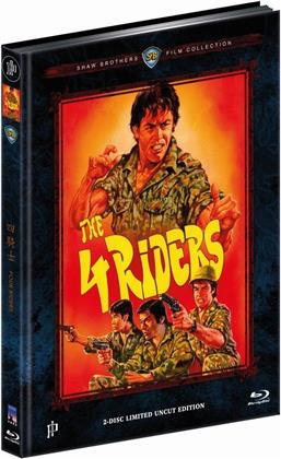 The 4 Riders (1972) (Cover A, Shaw Brothers Collection, Limited Edition, Mediabook, Uncut, Blu-ray + DVD)