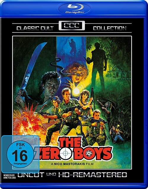The Zero Boys (1986) (Classic Cult Collection, Remastered, Uncut)