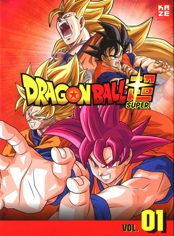 Dragon Ball Super - Box 1: Arc 1 - Kampf der Götter (3 DVDs)