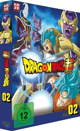 Dragon Ball Super - Vol. 2: Arc 2 - Goldener Freezer (3 DVDs)