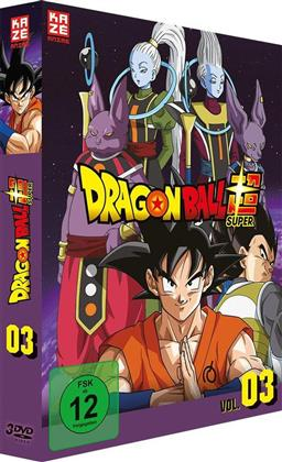 Dragon Ball Super - Vol. 3: Arc 3 - Universum 6 (3 DVDs)