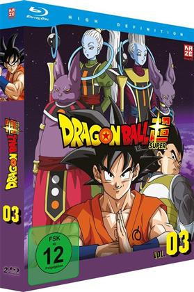 Dragon Ball Super - Vol. 3: Arc 3 - Universum 6 (2 Blu-rays)