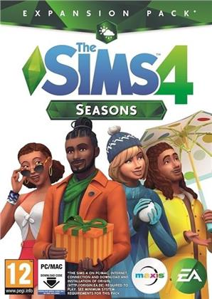 The Sims 4 - Addon 4 Seasons - (Code in a Box)