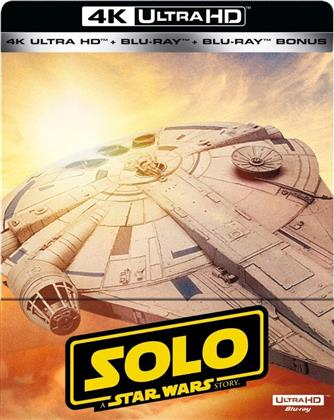 Solo - A Star Wars Story (2018) (Steelbook, 4K Ultra HD + 2 Blu-rays)