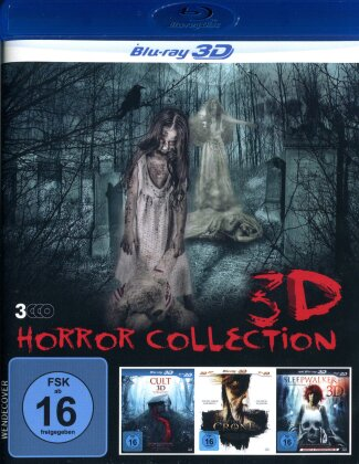 Horror Collection - Cult / Sleepwalker / The Crone (3 Blu-ray 3D (+2D))