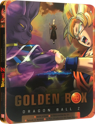 Dragon Ball Z - Golden Box - Battle of Gods & La Résurrection de 'F' (Collector's Edition, Limited Edition, Steelbook, 3 DVDs)