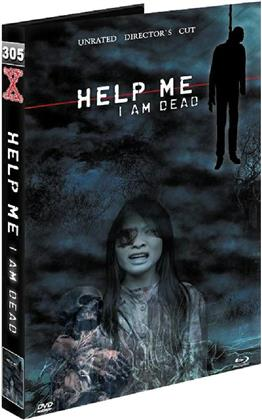 Help me I Am Dead (2013) (Grosse Hartbox, Cover B, Director's Cut, Uncut, Unrated, Blu-ray + 2 DVDs)