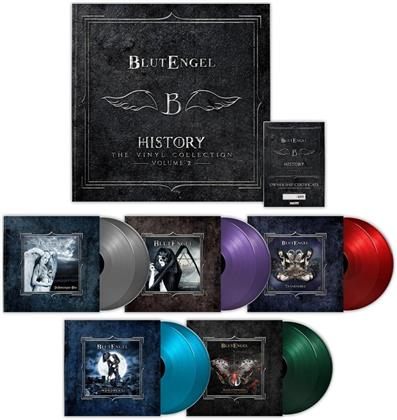 Blutengel - History-The Vinyl Collection (2018 Reissue, Limited Edition, 10 LPs)