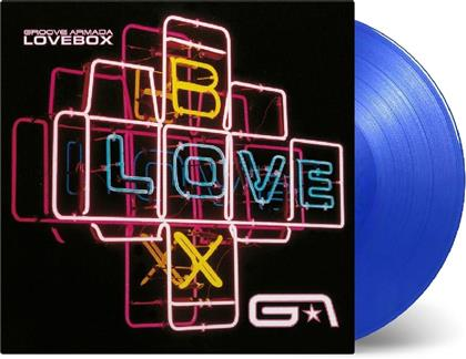 Groove Armada - Lovebox (2018 Reissue, Music On Vinyl, Limited Edition, Transparent Blue Vinyl, 2 LPs)
