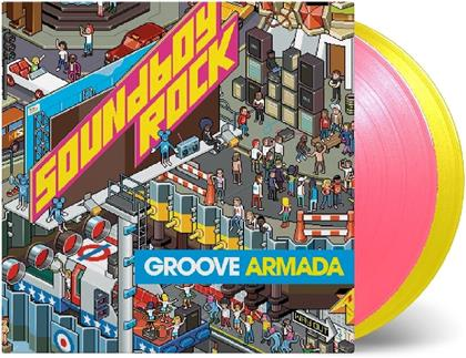 Groove Armada - Soundboy Rock (2018 Reissue, Music On Vinyl, Limited Edition, Pink & Yellow Vinyl, 2 LPs)