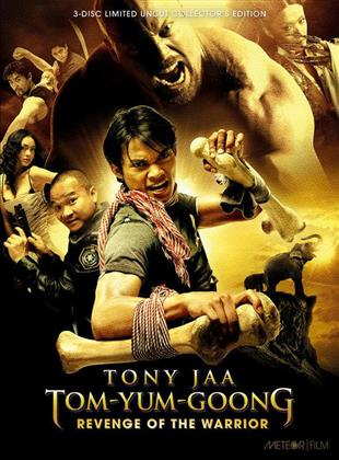 Tom-Yum-Goong - Revenge of the Warrior (2005) (Cover D, Collector's Edition, Limited Edition, Mediabook, Uncut, Blu-ray + 2 DVDs)