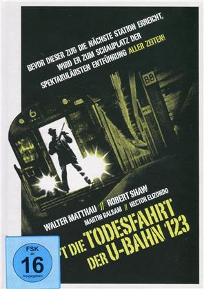 Stoppt die Todesfahrt der U-Bahn 123 (1974) (Cover B, Collector's Edition, Limited Edition, Mediabook, Blu-ray + DVD)