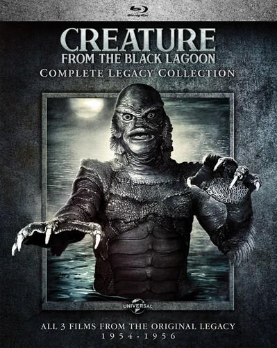 Creature From The Black Lagoon (1954) (Complete Legacy Collection, s/w)