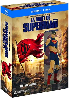 La mort de Superman (2018) (+ Figurine, Limited Edition, Blu-ray + DVD)