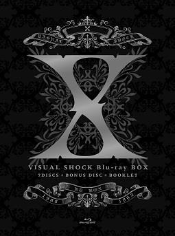 X Japan - Visual Shock Box (8 Blu-rays)