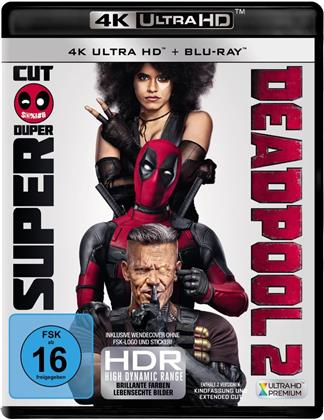 Deadpool 2 (2018) (Extended Cut, Kinoversion, 4K Ultra HD + Blu-ray)