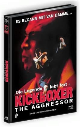 Kickboxer 4 - The Aggressor (Cover A, Limited Edition, Mediabook, Uncut, Blu-ray + DVD)