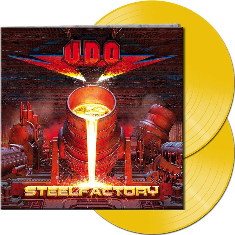 U.D.O. - Steelfactory (Gatefold, Clear/Yellow Vinyl, 2 LPs)