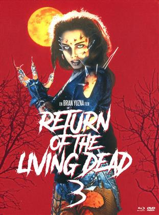 Return of the Living Dead 3 (1993) (Mediabook, Unrated, Blu-ray + 2 DVD)