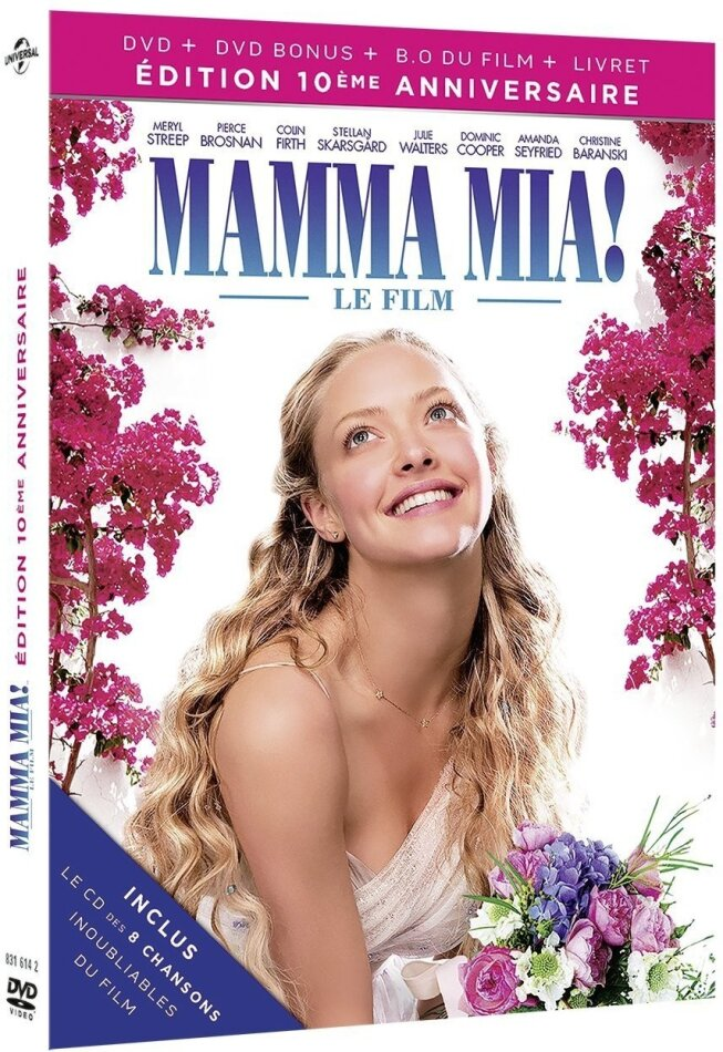 Mamma mia! (2008) (10th Anniversary Edition, 2 DVDs + CD)