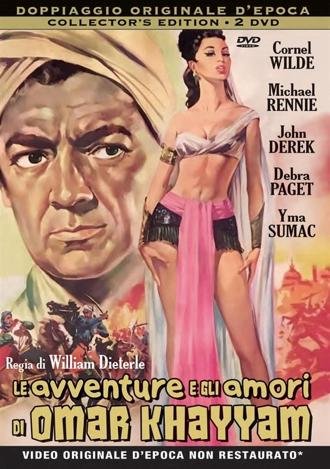 Le avventure e gli amori di Omar Khayyam (1954) (Rare Movies Collection, Collector's Edition, 2 DVDs)