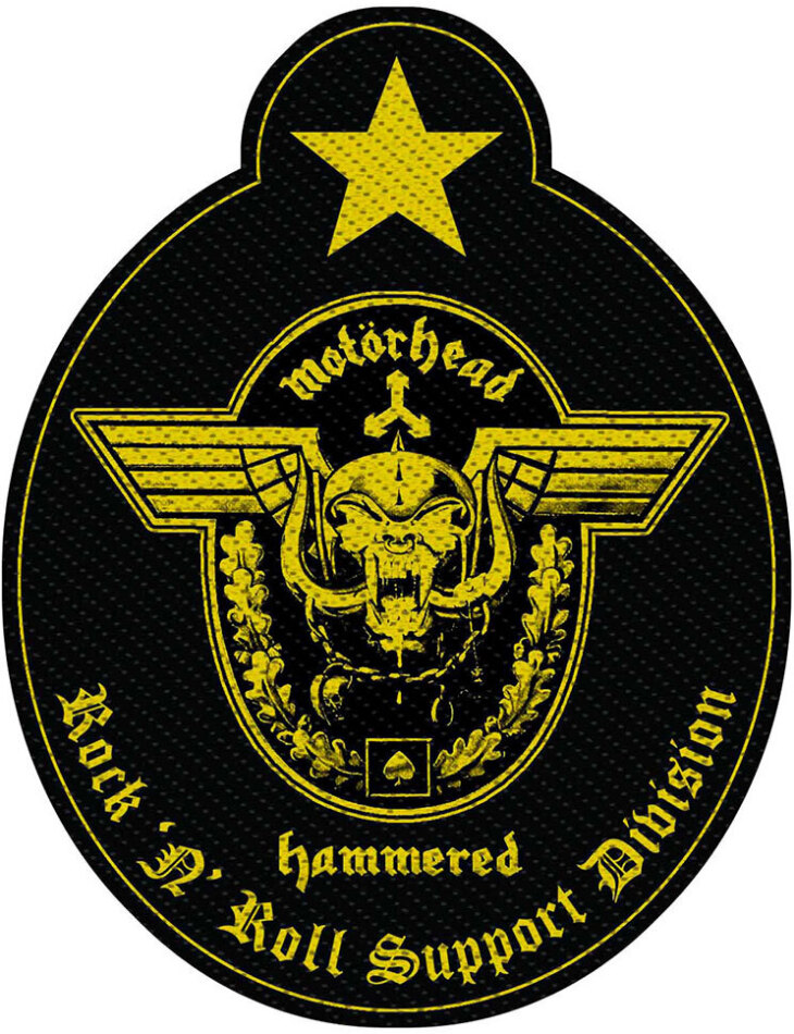 Motorhead Standard Patch - Support Division Cut-Out (Loose)