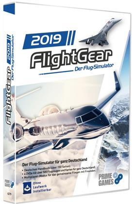 Flight Gear - Flugsimulator 2019
