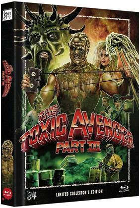 The Toxic Avenger - Part 3 (1989) (Cover B, Collector's Edition, Limited Edition, Mediabook, Uncut)
