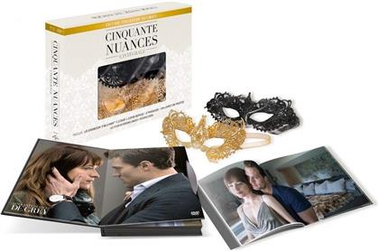 Cinquante nuances - Trilogie - Coffret intégral (Ultimate Collector's Edition, Extended Edition, Kinoversion, 3 Blu-rays + 5 DVDs)