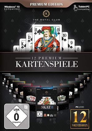 The Royal Club - 12 Premiumkartenspiele (Premium Edition)