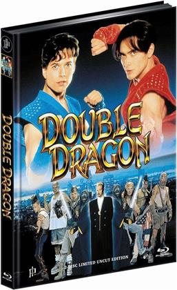 Double Dragon (1994) (Limited Edition, Mediabook, Uncut, Blu-ray + DVD)