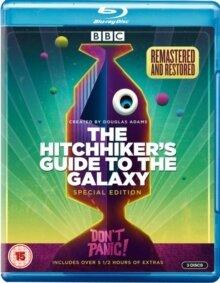 The Hitchhiker's Guide to the Galaxy (BBC, Remastered, Special Edition, 3 Blu-rays)