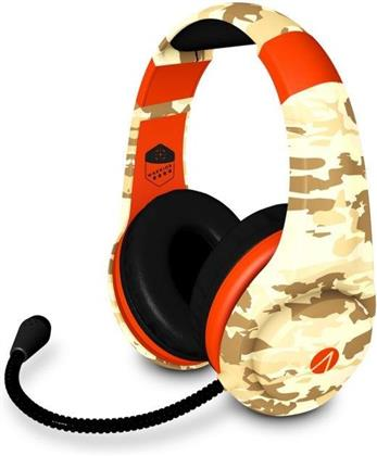 Warrior Multiformat Gaming Headset - camo/orange [PS4/XONE/NSW/PC/Mobile]