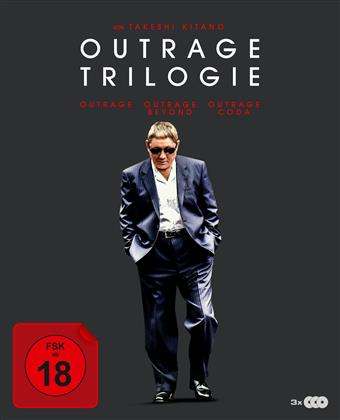 Outrage 1-3 (Digipack, 3 Blu-ray)